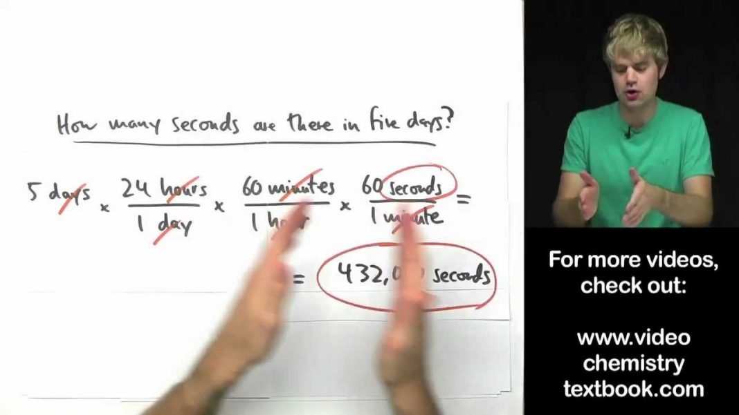 converting units using multiple conversion factors youtube