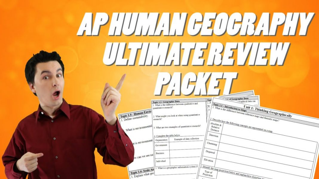 how to study for ap human geography the ultimate review