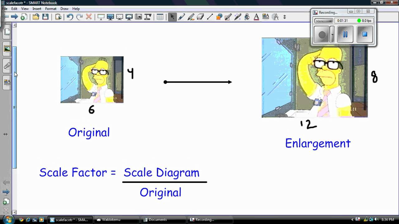 Scale Factor: Enlargement and Reduction
