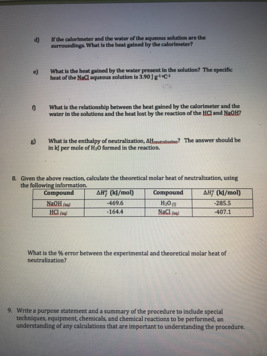 Solved: Name Pre Laboratory Problems 1. The Extrapolation ...